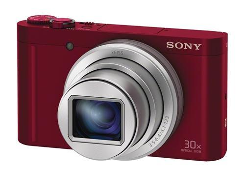 Máy Ảnh Sony CyberShot DSC-WX500 (Đỏ)