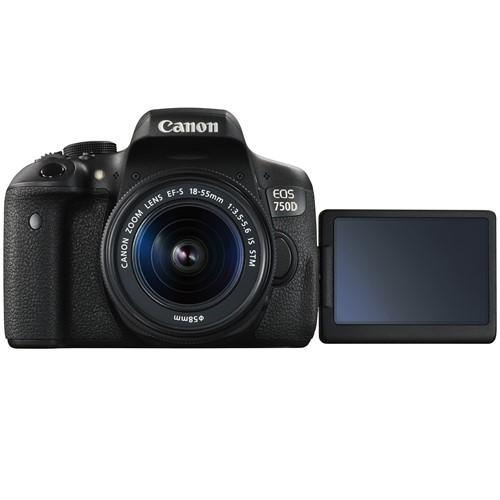 Máy Ảnh Canon EOS 750D Kit EF S18-55 IS STM (Hàng nhập khẩu)