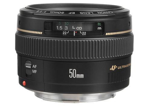 Ống Kính Canon EF50mm f/1.4 USM (Hàng nhập khẩu)