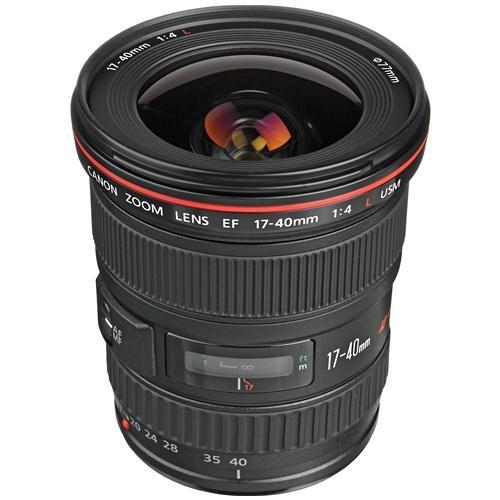 Ống Kính Canon EF17-40mm f/4L USM (Hàng nhập khẩu)