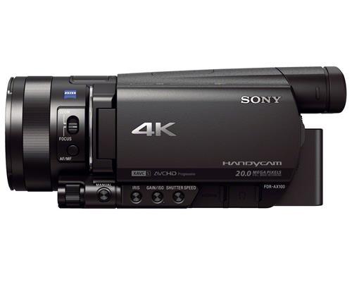 Máy Quay Sony FDR-AX100 4K