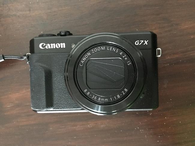 Máy Ảnh Canon PowerShot G7 X Mark II