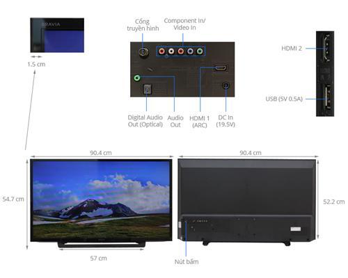 Tivi Sony 40R350D (40 inch)