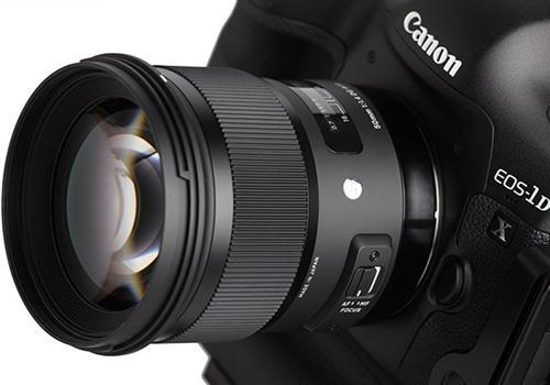 Ống Kính Sigma 50mm F1.4 DG HSM for Canon (Hàng Nhập khẩu)