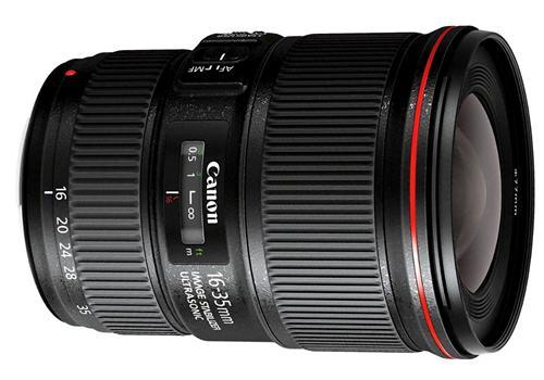 Ống kính Canon EF16-35mm F4L IS USM (Hàng nhập khẩu)