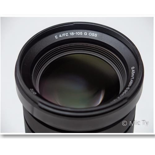 Ống Kính Sony E PZ 18-105mm f/4 G OSS Lens (SELP18105G)