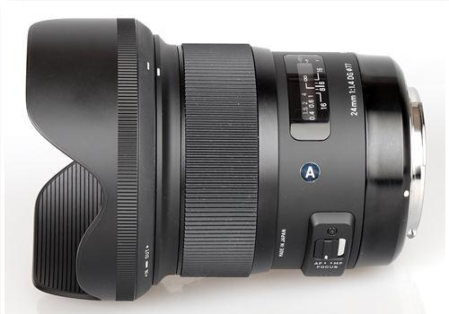 Ống kính Sigma 24mm F1.4 DG HSM Art for Canon (Hàng nhập khẩu)