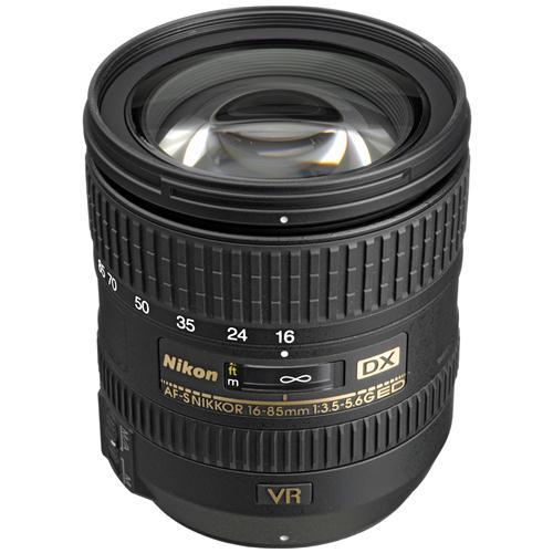 Ống Kính Nikon AF-S DX Nikkor 16-85mm f/3.5-5.6G ED VR  (Hàng Nhập Khẩu)