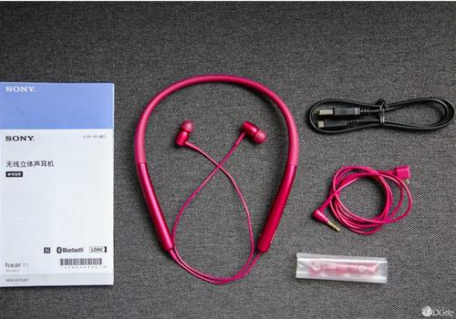 Tai nghe Sony h.ear in Wireless MDR - EX750BT (Hồng)