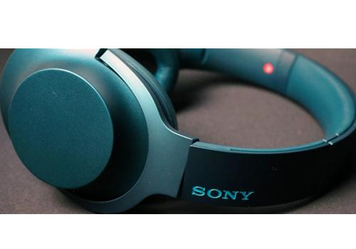 Tai nghe Hi-res Sony MDR - 100AAP (Xanh)