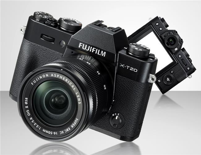 Fujifilm X-T20 được trau chuốt theo thiết kế hoài cổ