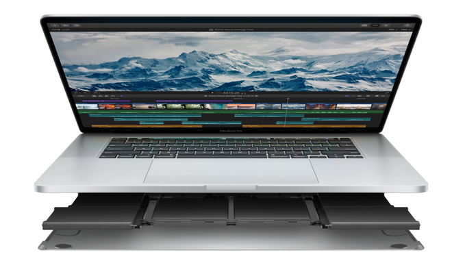 Apple ra mắt MacBook Pro 16 inch: Bàn phím Magic Keyboard, 6 loa, giá từ 2399 USD Apple chinh thuc ra mat MacBook Pro 16 inch Binhminhdigital 3(1)