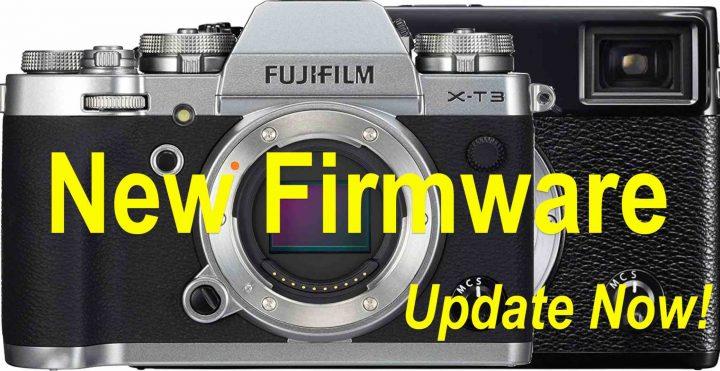 Fujifilm chính thức phát hành Firmware mới cho Fuji X-T3, X-Pro3, X-T100, X-A7 và X-A5 Fujifilm phat hanh Firmware moi cho Fuji X T3 X Pro3 X T100 X A7 va X A5 Binhminhdigital