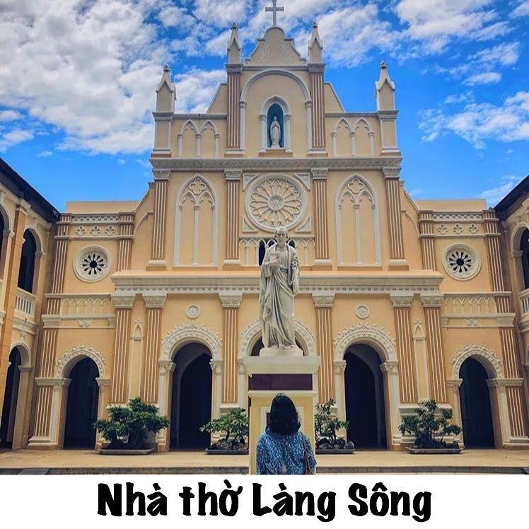 Nhà thờ Làng Sông (ảnh ST)