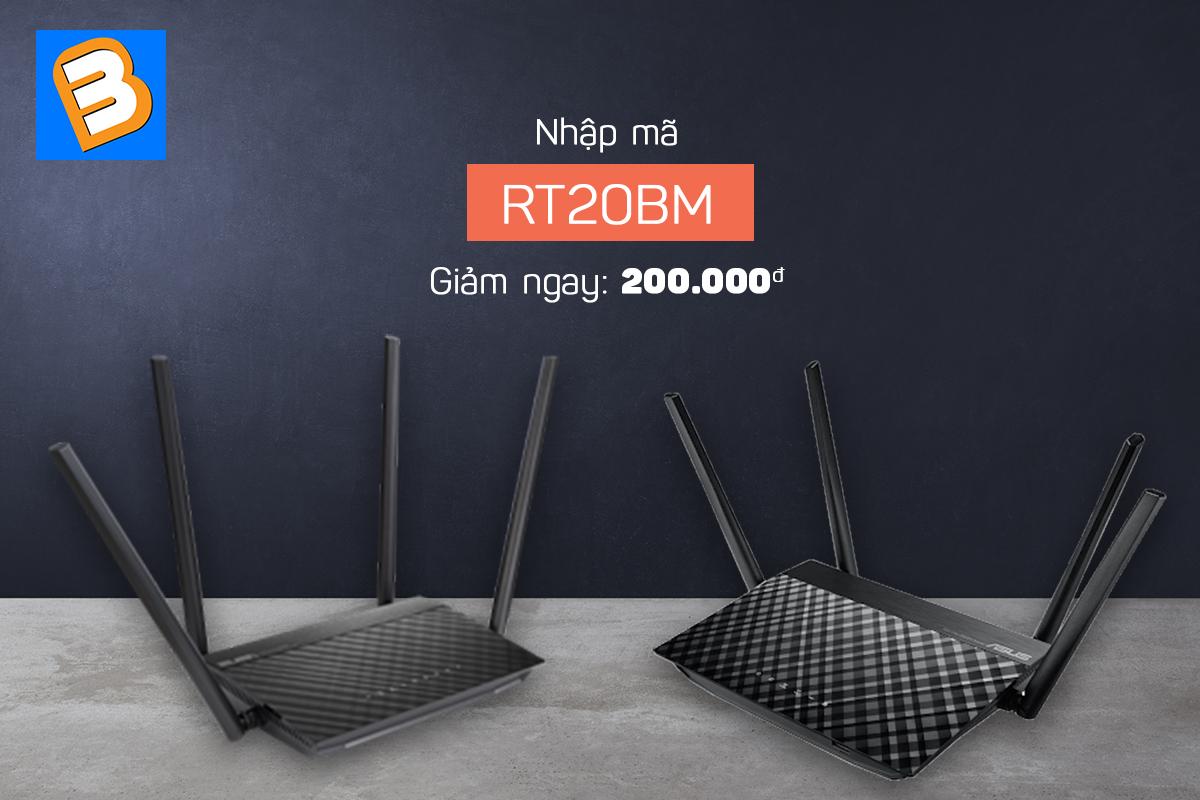 Giam gia cuc sock den 200K khi mua sam Router wifi tai Binh Minh
