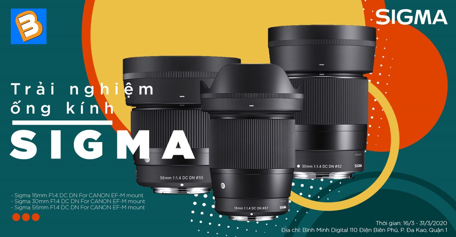 Thỏa khát khao trải nghiệm bộ ba ống kính Sigma cực chất cùng Binhminhdigital 2020 trai nghiem ong kinh sigma