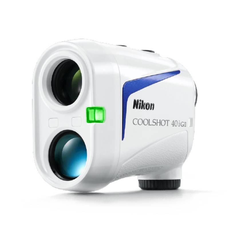 Thiết kế ống nhòm Nikon CoolShot 40i GII tiện lợi, dễ dùng