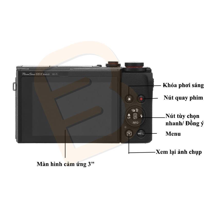 Khám phá Máy ảnh Canon Powershot G5 X Mark II