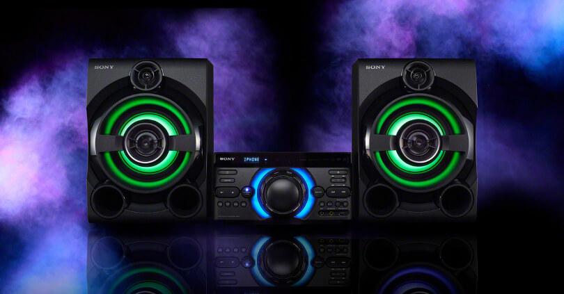 So kè dàn âm thanh Sony MHC-M40D và Sony MHC-M60D