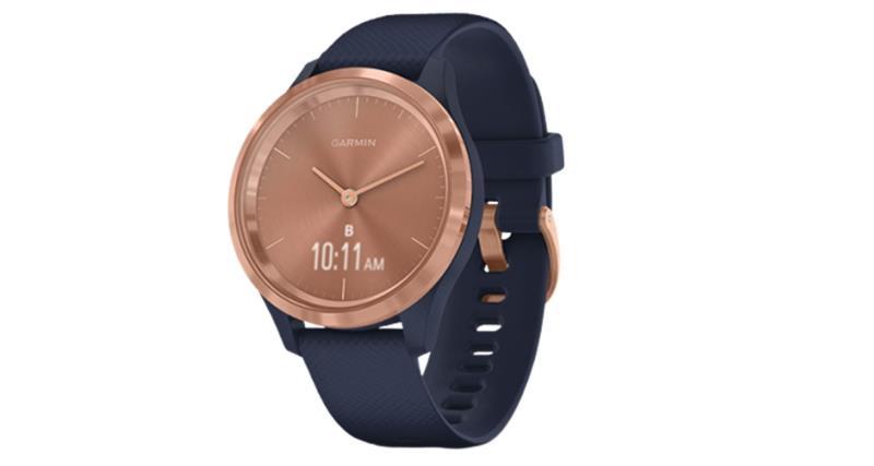 Đồng hồ thông minh Garmin Vivomove 3S (Navy with Rose Gold)