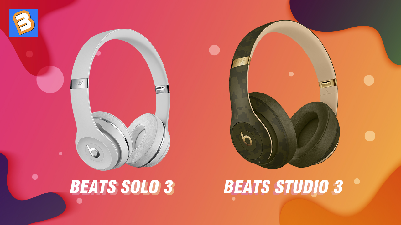 Beats Solo 3 so với Studio 3