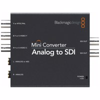 Blackmagic Mini - Analog to SDI 2 (CONVMAAS2)