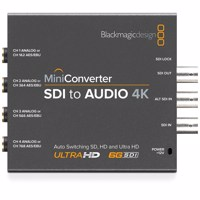 Blackmagic Mini - SDI to Audio 4K (CONVMCSAUD4K)