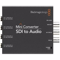 Blackmagic Mini - SDI to Audio (CONVMCSAUD)