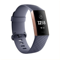 Đồng hồ thông minh Fitbit CHARGE 3 ROSEGOLD/BLUE GREY (VN)