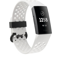 Đồng Hồ Thông Minh Fitbit Charge 3 Graphite/White SC (VN)
