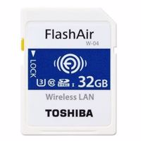 Thẻ Nhớ Flashair SDHC Wifi Toshiba 32gb (90MB/s)