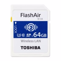 Thẻ Nhớ FlashAir SDXC WiFi Toshiba 64GB 90MB/s (70MB/s)