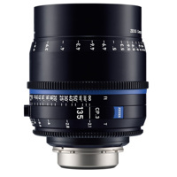 Ống Kính ZEISS Compact Prime CP.3 135mm T2.1 (PL Mount, Meters)
