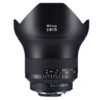 Ống kính Zeiss Milvus 15mm F2.8 ZF.2 for Nikon