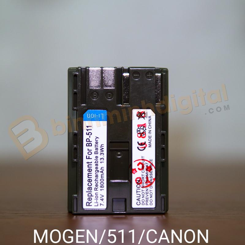 PIN MOGEN BP-511A FOR CANON 50D, 40D, 30D, 20D, 5D