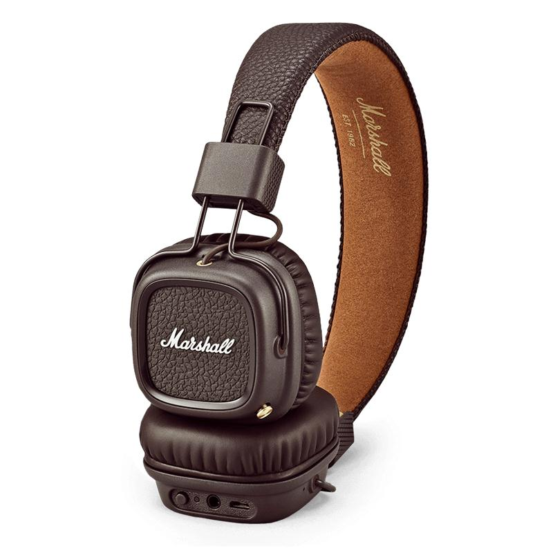 Tai nghe Marshall Major II Bluetooth Brown