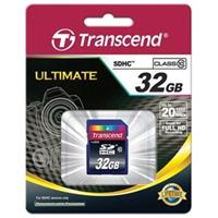 Thẻ Nhớ Transcend Ultimate SDHC 32GB Class 10