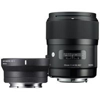 Combo Sigma 35mm f/1.4 DG HSM Art Lens for Canon EF và MC-11 Mount Converter for Sony E Kit